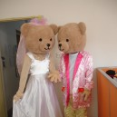 Couples Bear Bear Cartoon Costumes Cartoon Cartoon Props Costumes Wedding Clothing Walking Doll Clothing Mascot Costume
