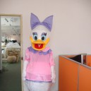 Donald Duck Cartoon Doll Clothing Cartoon Walking Doll Clothing Cartoon Dolls Headgear Mascot Costume