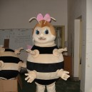 Supply Hornet Mascot Dolls Walking Cartoon Bee Walking Doll Clothing Fashion Show Mascot Costume
