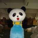 Hunters Panda Panda Walking Doll Cartoon Clothing Doll Dress Costumes Panda Mascot Costume