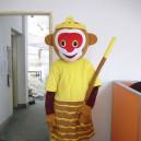 Supply Monkey Journey To The West Monkey King Cartoon Doll Cartoon Clothing Doll Dress Walking Doll Clothing Mascot Costume