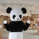 Supply Panda Costumes Panda Brother Cartoon Dolls Movable Dolls Clothing Walking Doll Clothing Mascot Costume