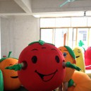 Supply Persimmon Fruit Cartoon Costume Props Costumes Fitted Bulk Walking Doll Mascot Costume