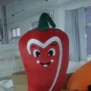 Red Chili Pepper Cabbage Cartoon Dolls Clothing Walking Cartoon Doll Clothing Corporate Mascot Mascot Costume