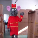 Supply Shanghai Cartoon Doll Cartoon Props Costumes Wedding Etiquette Mouse Mouse Costume Celebration Loaded Mascot Costume