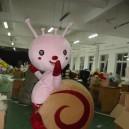 Snail Escargot Doll Fashion Doll Cartoon Walking Doll Clothing Doll Clothing Props Mascot Costume