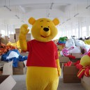 Supply Winnie The Pooh Cartoon Dolls Cartoon Clothing Cartoon Show Clothing Cartoon Toys Clothing Mascot Costume