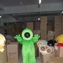 Zombies Cartoon Clothing Sunflowers Pea Shooter Cartoon Walking Doll Clothing Props Mascot Costume