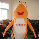 Crayfish Shrimp Cartoon Dolls Cartoon Clothing Props Lobsters Walking Doll Clothing Mascot Costume