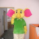 Supply Di Baby Elephant Cartoon Costumes Walking Cartoon Doll Clothing Like Elephants Corporate Mascot Costumes Props