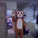 Supply Jumping Monkey Monkey Cartoon Dolls Cartoon Clothing Costumes Props Costumes Walking Doll Clothing Mascot Costume
