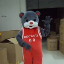 Supply Shanghai Cartoon Doll Clothing Rockets Bear Costume Bear Walking Doll Apparel Mascot Costume