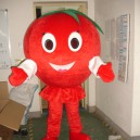 Supply Tomatoes Tomato Walking Doll Clothing Cartoon Clothing Performance Props Persimmon Fruit Doll Doll Mascot Costume