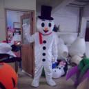 Supply Christmas Snowman Cartoon Doll Clothing Cartoon Clothing Performance Clothing Apparel Bulk Mascot Costume