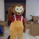Supply Doll Clothing Cartoon Monkey Monkey Fur Clothing Walking Cartoon Doll Clothing Apparel Cubs Mascot Costume