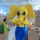 Supply Elephant Baby Elephant Cartoon Doll Doll Clothing Walking Cartoon Clothing Cartoon Show Clothing Apparel Mascot Costume