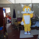 Supply Taiao Si Universe Sprint Two Tails Fox Cartoon Clothing Cartoon Walking Doll Little Fox Mascot Costume