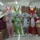 Supply Bugs Bunny Cartoon Doll Cartoon Clothing Doll Dress Costumes Plush Dolls Walking Doll Mascot Costume