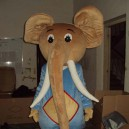 Supply Cartoon Doll Clothing Cartoon Elephant Show Elephant Costumes Stage Costumes Performing Props Clothing Mascot Costume