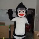 Supply Gorilla Cartoon Monkey Costume Wigs Dolls Walking Cartoon Costumes Costumes Costumes Mascot Costume