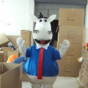 Supply Mustang Cattle Donkey Cartoon Clothing Cartoon Dolls Cartoon Clothing Zebra Walking Doll Clothing Mascot Costume