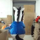 Mustang Cattle Donkey Cartoon Clothing Cartoon Dolls Cartoon Clothing Zebra Walking Doll Clothing Mascot Costume