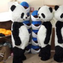 Supply Panda Panda Cartoon Dolls Cartoon Clothing Performance Clothing Walking Doll Clothing Corporate Mascot Mascot Costume