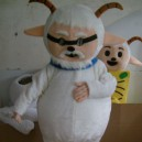 Supply Pleasant and Wolf Cartoon Clothing Old Village Cartoon Walking Doll Clothing Doll Clothing Mascot Costume