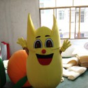 Supply Shanghai Cartoon Clothing Corn Plant Fruits Walking Doll Clothing Corporate Mascot Mascot Costume