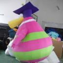 Shanghai Cartoon Costumes Cartoon Character Costumes Pregnant Prof. Dr. Doll Clothing Cartoon Walking Clothes Mascot Costume