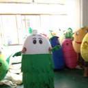 Supply Shanghai Cartoon Doll Costume Props Turnip Radish Bulk Carrots Walking Doll Clothing Mascot Costume