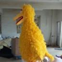 Big Yellow Bird Bird Cartoon Dolls Doll Clothing Props Walking Activity Convincing Performance Through Animation Mascot Costume