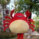 Supply Crab Seafood Cartoon Doll Clothing Cartoon Costumes Marine Animal Cartoon Adult Cartoon Clothing Mascot Costume