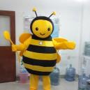 Supply Bee Cartoon Costumes Show Performances Clothing Clothing Clothing Walking Cartoon Bee Honey Mascot Costume