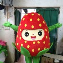 Supply Fruit Cartoon Series Clothing Walking Cartoon Doll Clothing Doll Clothing Doll Ornaments Strawberry Props Mascot Costume