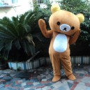 Supply Japan The Lazy Bear Toy Advertising Cartoon Doll Clothing Adult Clothing Walking Performances Doll Clothing Relaxed Bear Mascot Costume