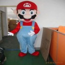Level Mario Cartoon Clothing Cartoon Dolls Walking Cartoon Dolls Clothes Fashion Show Props Mascot Costume