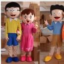 Nobita Shizuka Cartoon Props Props Dolls Walking Cartoon Doll Clothing Cartoon Dolls Clothing Mascot Costume