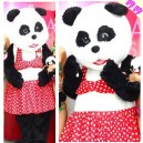 Supply Adult Cartoon Doll Doll Clothing Mascot Costume Modeling Person Walking Through Performances Panda Spokesperson