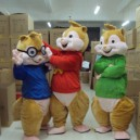 Supply Cartoon Doll Clothing Walking Performances Doll Clothes Adult Squirrel Squirrel Elf Doll Baby Chipmunks Mascot Costume