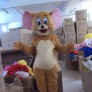 Tom and Jerry Doll Clothing Tomandjerry People Wear Cartoon Dolls Plush Toy Doll Gift Born in Japan Mascot Costume