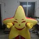 Supply Walking The Red Five-pointed Star Star Plush Costumes To Wear Headgear Person Walking Big Props Cartoon Dolls Doll Clothing Mascot Costume