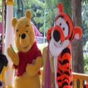 Supply Winnie The Pooh Tigger Cartoon Dolls Performances Bear Cartoon Bear Dressed in Costumes Walking Doll Clothing Mascot Costume