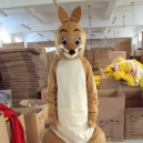 Supply Adult Cartoon Clothing Can Wear People Walking Performances Doll Proboscis Kangaroo Animal Doll Clothes Caps Mascot Costume