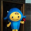 Supply Aquarium Hoods Dolls Walking Cartoon Show Clothing Apparel Small Goldfish Fish Deep Sea Fish Clothing Mascot Costume