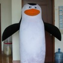 Supply Custom Cloth Plush Toys Madagascar Penguin Puppet Giraffe Melman Doll Clothing Mascot Costume
