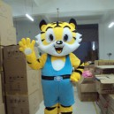 Supply Doll Clothing Cartoon Clothes People Wear Adult Costumes Walking Festival Performances Amway Tiger Mascot Costume