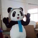 Supply Doll Doll Wearing A Walking Activity Convincing Performance Costumes Can Pass Panda Kung Fu Bear Clothes Mascot Costume