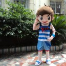 Supply Image Mascot Costume Suit Adult Activities Show Clothes Haier Brothers Cartoon Character Clothes