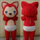 Supply Adult Walking Cartoon Doll Clothing Cartoon Show Costumes Mascot Plush Doll Ali Mascot Costume